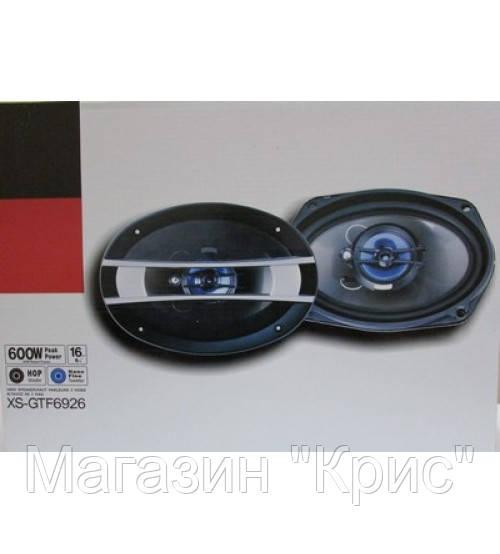 """Колонки автомобильные XS-GTF6926 6x9 овалы (600W)!Опт - Магазин """"Крис"""" в Одессе"""