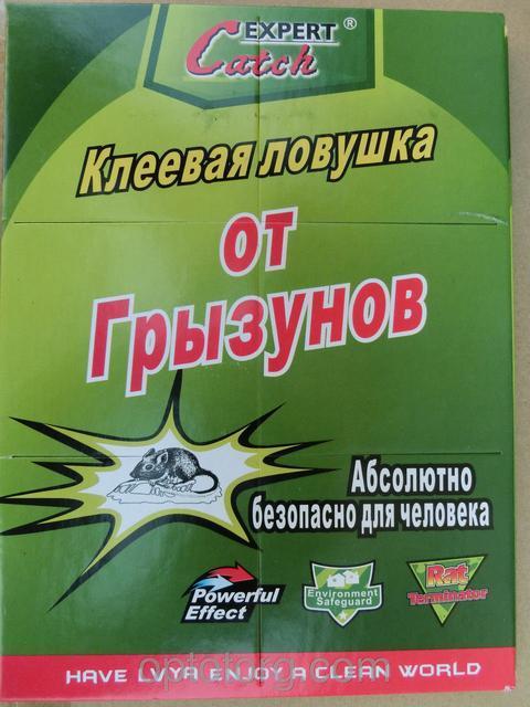 Клейова ловушка для вилову гризунів та комах 17х26 см 6692