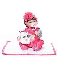 Кукла Элисон, реборн, 42см, мягконабивная, в подарочной упаковке