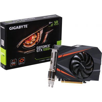 """Видеокарта GIGABYTE GeForce GTX1060 3072Mb MINI ITX OC (GV-N1060IXOC-3GD) - Тов """"Скiф-сервic"""" в Киеве"""