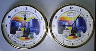 Настенные часы с логотипом Киев