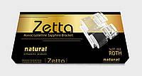 Сапфировые брекеты Natural Zetta, Roth 022