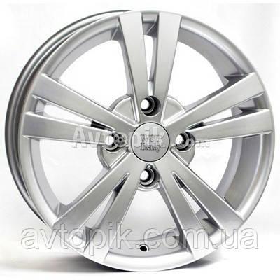 Литые диски WSP Italy Chevrolet (W3602) Tristano R15 W6 PCD4x114.3 ET45 DIA56.6 (silver)