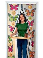Москитная сетка Меджик Меш с бабочками
