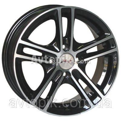 Литые диски RS Wheels 5163TL R15 W6.5 PCD4x100 ET38 DIA67.1 (MHS)