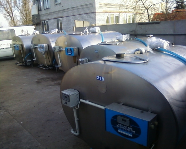 Охладитель молока Mueller 4100 - ООО АгроПромХолод в Днепре