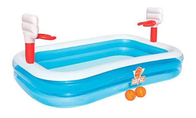 Надувной бассейн BestWay 54122, размер 254х168х102 см, фото 2