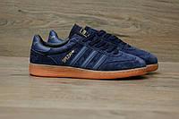 Мужские кроссовки Adidas Spezial Blue