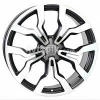 Литые диски WSP Italy Audi (W565) Medea R18 W7.5 PCD5x112 ET54 DIA57.1 (Matt Gun Metal Polished)