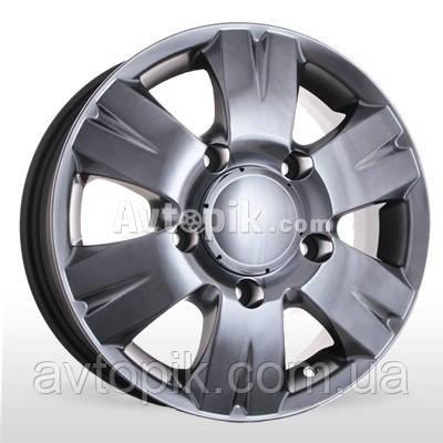 Литые диски Storm W-604 R15 W6.5 PCD5x118 ET58 DIA71.1 (silver)