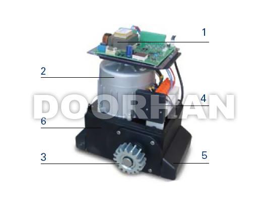 Doorhan Sliding 2100 - конструкция