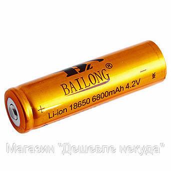 """Аккумулятор Bailong BL-18650 Li-Ion 4.2V 6800mAh - Магазин """"Дешевле некуда"""" в Одессе"""