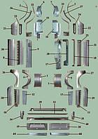 Ремонтные вставки кузова ГАЗ-3302,2705,3221,32023,2217, 2752 Фермер Дуэт Соболь Газель Баргузин