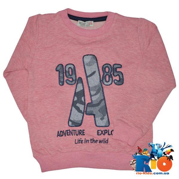 Детский батник трикотаж, для мальчика (86/92, 98/104, 110/116, 122/128) 4 ед в уп