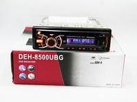 Автомагнитола DEH-8500UBG, магнитола автомобильная USB+Sd+MMC съемная панель!Акция