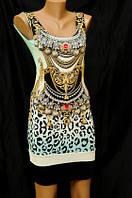 Стильное коктейльное платье 5584
