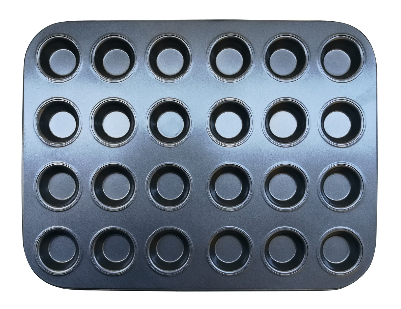 Форма для выпечки кексов 24 шт тефлон