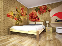 """Деревянная кровать """"Сакура 1"""""""