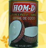 Кокосове молоко, Hom-D, 400мл, 19%, Сп