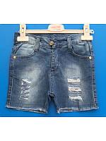 Модные джинсовые рваные  шорты для мальчика 3-7 лет