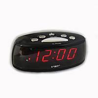 Электронные настольные часы с красной подсветкой VST 773-1!Акция