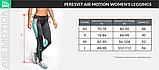 Женские компрессионные леггинсы Peresvit Air Motion Women's Leggins Black, фото 5