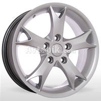 Литые диски Storm YQR-083 (Mitsubishi) R17 W6.5 PCD5x114.3 ET38 DIA67.1 (silver)
