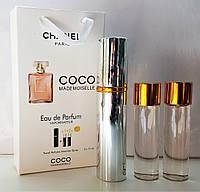"""Подарочный набор 3в1 с феромонами Chanel """"Coco Mademoiselle"""" для женщин"""