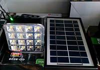 Аккумулятор солнечная панель GD LITE GD 8039, портативный аккумулятор c солнечной батарей