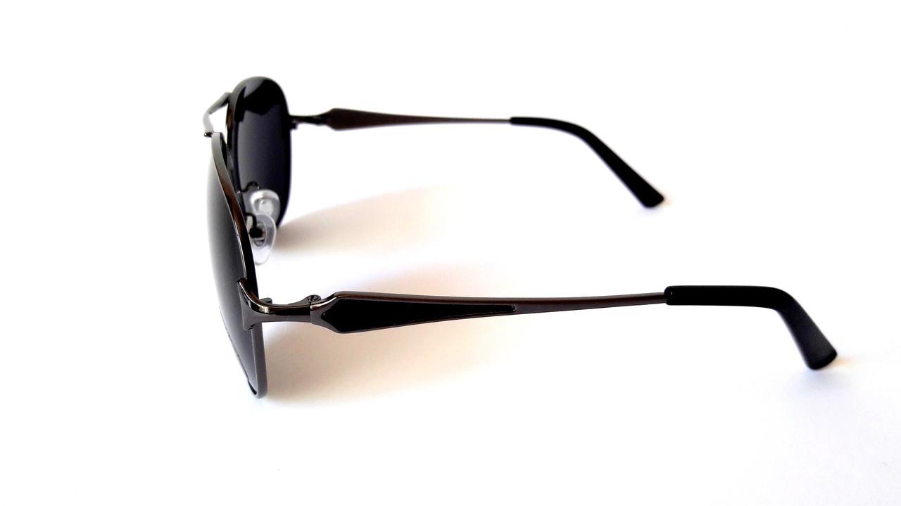 ... Солнцезащитные очки Polaris с поляризацией, авиатор, металл, сталь,  унисекс, фото 3 318a8b155b9