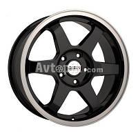 Литые диски Disla 719 R17 W7.5 PCD5x112 ET40 DIA72.6 (black)