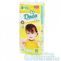 Подгузники Dada 4+ Extra Soft maxi 9-20 кг 50 шт.