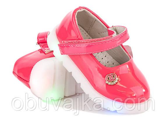 2e6958638 Детские туфельки с подсветкой для девочек оптом от BBT(21-26 ...