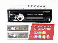 Автомагнитола 3209 Usb+RGB подсветка+Fm+Aux+ пульт (4x50W)!Опт