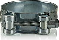 Хомут силовий W4  76-80мм  лента и метизы из нержавеющей стали