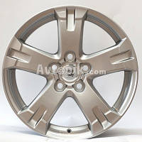 Литые диски WSP Italy Toyota (W1750) Catania R17 W7 PCD5x114.3 ET45 DIA60.1 (silver polished)