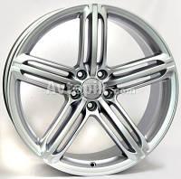 Литые диски WSP Italy Audi (W560) Pompei R17 W8 PCD5x112 ET39 DIA66.6 (Matt Gun Metal)