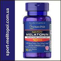 Puritan's Pride Quick Dissolve Melatonin 10 mg 90 Tablets