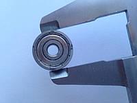 Однорядный подшипник ZKL 635 2Z (5x19x6)