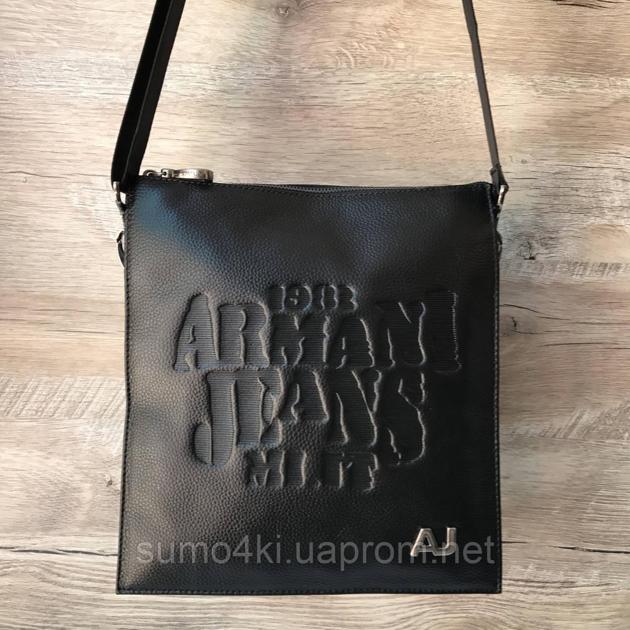35b38bcec155 Купить Мужскую кожаную сумку через плечо Armani оптом и в розницу в ...