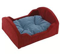 Кровать водонепроницаемая для кошек и мелких собак в комплекте с мягкой подушкой BEDDY FERPLAST