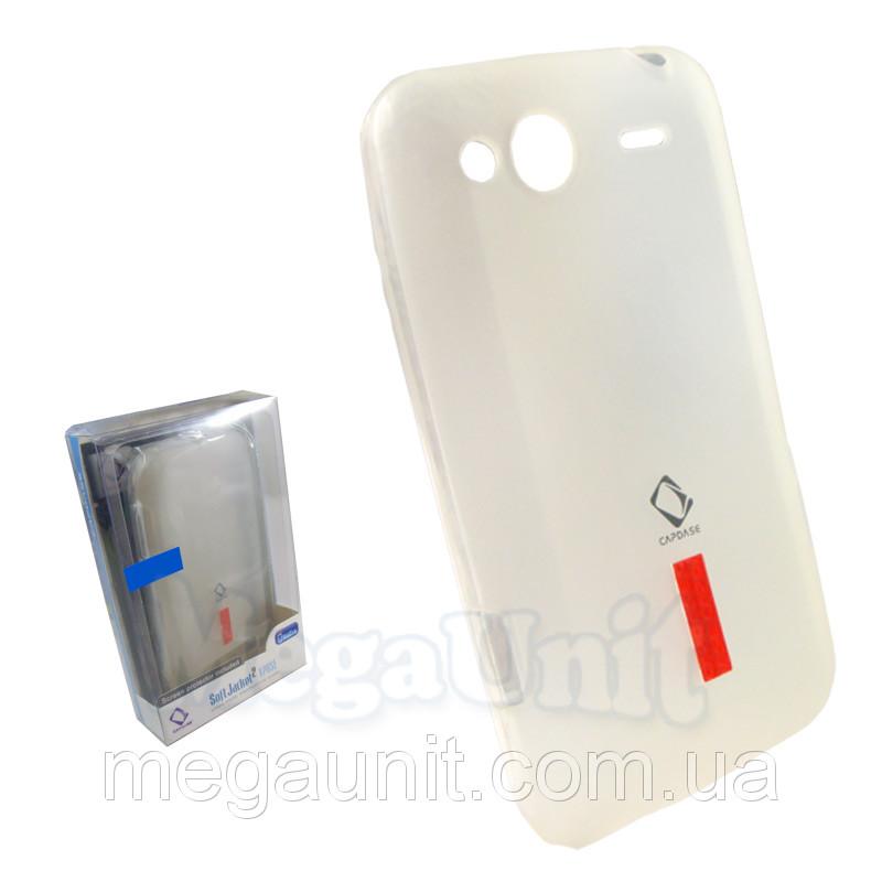 Capdase. HTC C510e / G15 Salsa. Силиконовый чехол (+пленка)