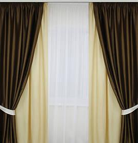Комплект штор для гостинной