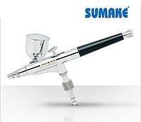 Аэрограф профессиональный со съемным бачком сопло 0.2 мм (Sumake SB-1107)
