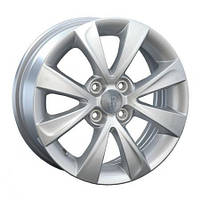 Литые диски Replica Kia (KI87) R15 W6 PCD4x100 ET43 DIA54.1 (silver)