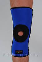 Наколенник со спиральными ребрами жесткости и силиконовой подушкой Реабилитимед К-1-Т