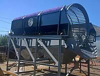 Барабанный сепаратор ( Грохот ) для сортировки мусора (ТБО)