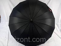 Зонт трость с большым куполом на 16 спиц  от Top Rain
