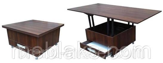 Стол журнальный трансформер для гостиной  Дельта, фото 3