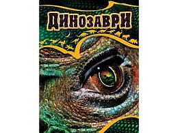 Енциклопедії: Динозаври  укр. 64стор., твер.обл. 245х335 /10/